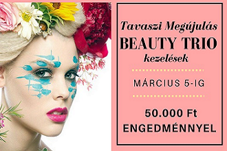 Tavaszi Bőrmegújító Program: BEAUTY TRIO